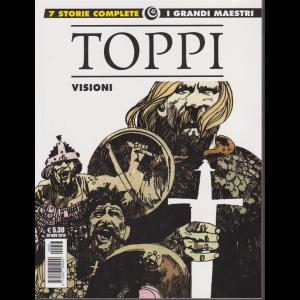 Cosmo Albi - Sergio Toppi - Visioni - 28 novembre 2019 - mensile - I grandi maestri 41 -