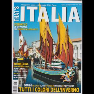 That's Italia - n. 33 - dicembre/gennaio 2020 - bimestrale