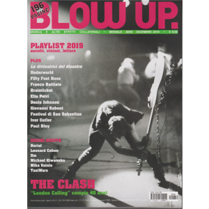 Blow Up Rock - Playlist 2019 - N. 259 - Dicembre 2019 - mensile