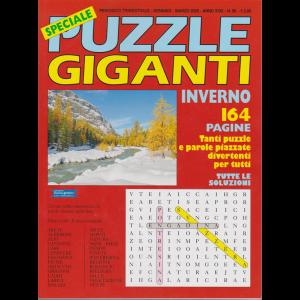 Speciale Puzzle Giganti inverno - n. 98 - trimestrale - gennaio - marzo 2020 - 164 pagine