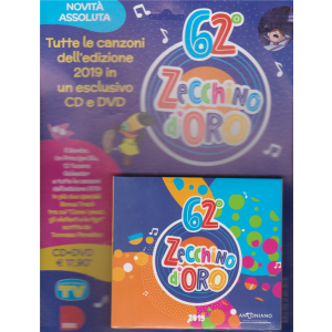 Cd Sorrisi Super - 62°  Zecchino D'oro 2019  - 3/12/2019 - settimanale - n. 2 -