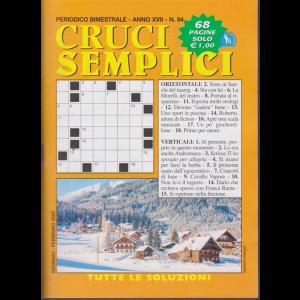 Cruci Semplici - n. 94 - bimestrale - gennaio - febbraio 2020 - 68 pagine
