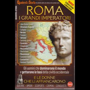 Quaderni di Storia - Roma - I grandi imperatori - n. 1 - bimestrale - dicembre - gennaio 2020 -