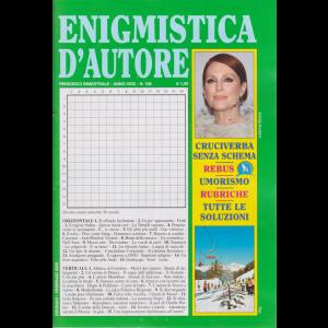 Enigmistica d'autore - n. 198 - bimestrale - gennaio - febbraio 2020 -