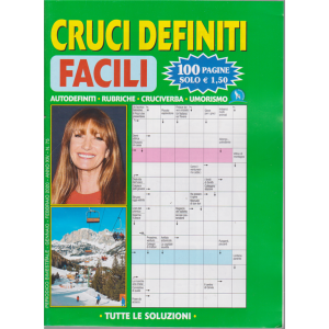 Cruci Definiti Facil - n. 75 - bimestrale - gennaio - febbraio 2020 - 100 pagine