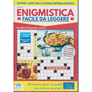Enigmistica facile da leggere - n. 24 - bimestrale - 28/11/2019