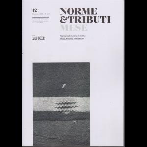 Norme &  Tributi Mese - n. 12 - mensile - dicembre 2019