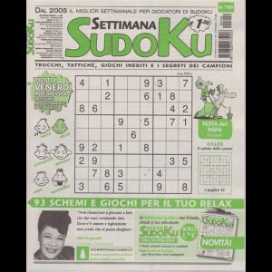 Settimana Sudoku - n. 709 - settimanale - 15 marzo 2019 -