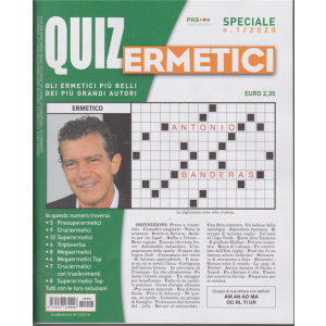 Quiz Ermetici - n. 1 - 6/12/2019 - trimestrale -