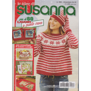 Le idee di Susanna - n. 356 - dicembre 2019 - mensile