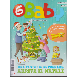 G-Baby - Fumetti Giochi Attività - n. 12 - dicembre 2019 - mensile