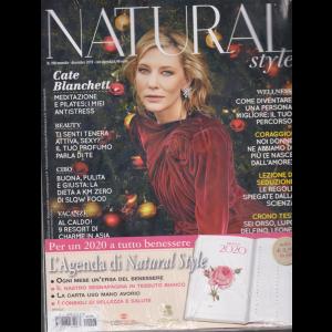 Natural Style + Agenda 2020 - con le erbe del benessere - copertina rigida - n. 198 - mensile - dicembre 2019 -
