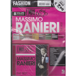Music Fashion Var.07 - I miti anni 60 - 70  - Massimo Ranieri the best - rivista + cd -
