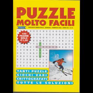 Puzzle molto facili - n. 94 - bimestrale - gennaio - febbraio 2020 - 100 pagine