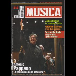 Musica - n. 312 - 7/12/2019 - mensile