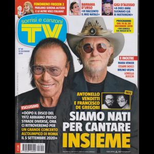 Sorrisi e Canzoni Tv - n. 49 - 10 dicembre 2019 - settimanale
