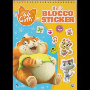 Sticker Games Speciale- 44 Gatti Il mio blocco sticker - n. 2 - bimestrale - 5/10/2019 - con spirale