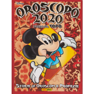 Disney Mix - n. 3 - Oroscopo 2020 - l'anno del topo -bimestrale - 10 dicembre 2019 -