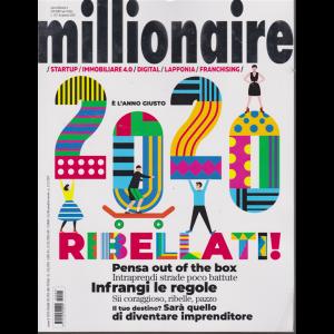 Millionaire - n. 1 - dicembre - gennaio 2020 -