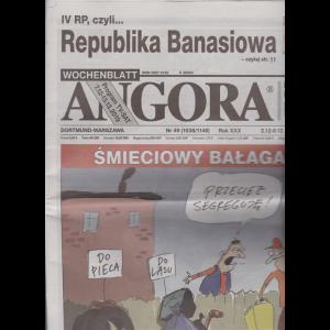 Angora - n. 49 - 2-12-8-12-2019 - in lingua polacca