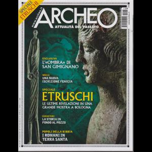 Archeo - n. 418 - mensile - dicembre 2019 -