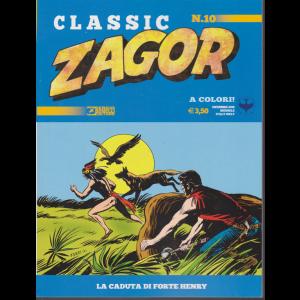 Zagor Classic - La caduta di Forte Henry - n. 10 - dicembre 2019 - mensile