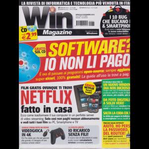 Win Magazine - rivista + cd - n. 264 - dicembre 2019 - mensile -