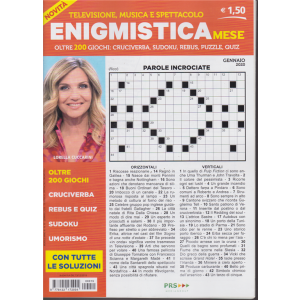 Enigmistica mese - n. 15 - gennaio 2020 - mensile