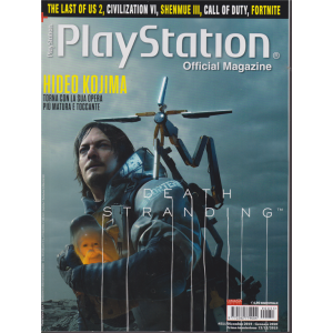 Play Station official magazine - n. 51 - bimestrale - dicembre 2019 - gennaio 2020 -