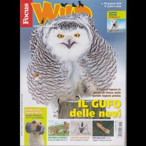 Focus Wild - n. 102 - gennaio 2020 - doppio poster in regalo