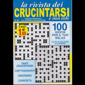 La rivista dei crucintarsi e non solo - n. 24 - bimestrale - dicembre 2019 - gennaio 2020  - 100 giochi per il tuo relax