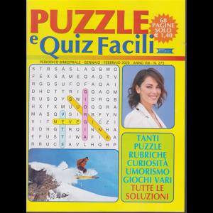 Puzzle e Quiz facili - n. 273 - bimestrale - gennaio - febbraio 2020 - 68 pagine