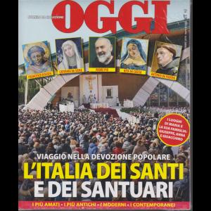 Oggi - numero da collezione - L'Italia dei santi e dei santuari - dicembre 2019 -