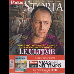 Focus Storia + Focus Storia Viaggi nel tempo - I grandi luoghi della storia - n. 159 - gennaio 2020 - 2 riviste