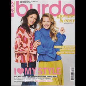 Burda giovane & easy - inverno 2019 - n. 21 - trimestrale - 13/12/2019 -