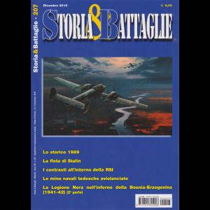 Storia & battaglie - n. 207 - dicembre 2019 - mensile