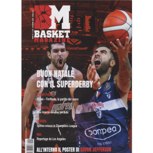 BM Basket magazine - n. 59 - dicembre 2019 -