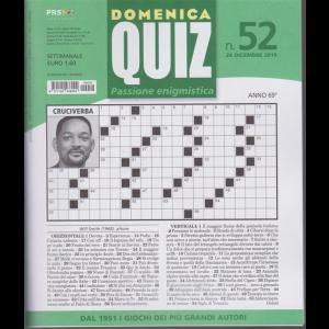 Domenica quiz - n. 52 - 26 dicembre 2019 - settimanale