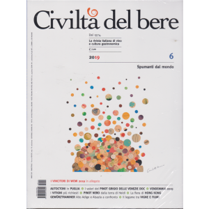 Civiltà del bere - n. 12 - bimestrale - novembre - dicembre 2019 - Spumanti dal mondo