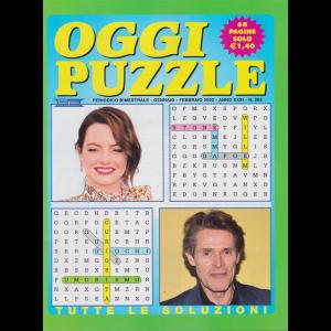 Oggi puzzle - n. 263 - gennaio - febbraio 2020 - bimestrale - 68 pagine