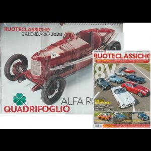 Calendario 2020 cm. 44x34 con spirale  + ruote Classiche dic. 2019