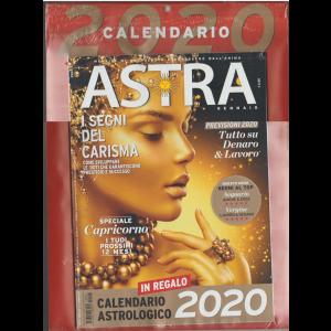 Astra mensile Gennaio 2019 + Calendario Astrologico 2020  cm.24 x 33
