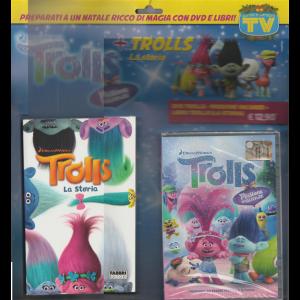 """TROLLS """"La storia"""" + DVD  TROLLS: MISSIONE VACANZE by DreamWorks"""