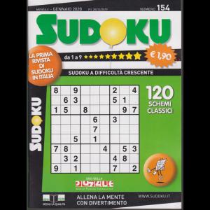 Sudoku - n. 154 - mensile - gennaio 2020
