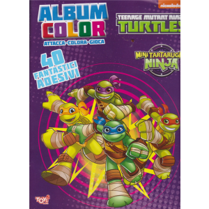 Album color Teenage mutant Ninja turtles - n. 35 - bimestrale - 14 novembre 2019 -