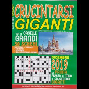 Crucintarsi giganti - n. 6 - mensile - dicembre 2019 -