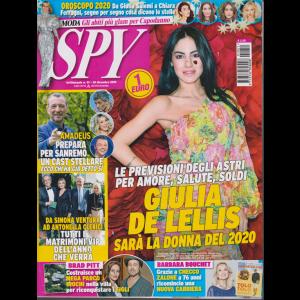 Spy - n. 51 - 20 dicembre 2019 - settimanale