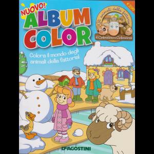 Album color Gli animali della fattoria di Celestino e Celestina - n. 22 - dicembre 2019 - bimestrale