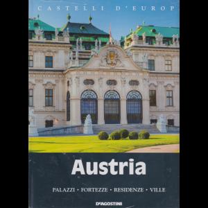 Castelli d'Europa - Austria - n. 7 - settimanale - 21/12/2019 - copeertina rigida