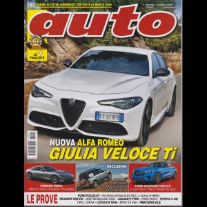AUTO - mensile n. 1 Gennaio 2020 Alfa Romeo Giulia Veloce Ti